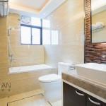 modern bathroom with nice decoration