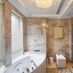 luxury bathroom interior and decoration